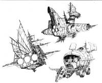 Bravestarr concept designs