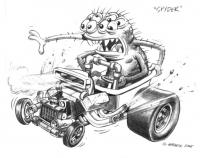 """Spyder"" from Ed and the Gearheads"
